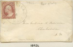#25A ON COVER WITH PLATE NO. 18R2L CV $675.00 BN8820