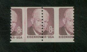 U.S. #1402 MINT Misperfed Line pair F-VF NH