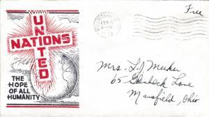 United States Pennsylvania Hollidaysburg 1943 machine  United Nations The Hop...