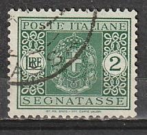 J50 Italy Postage Due Used