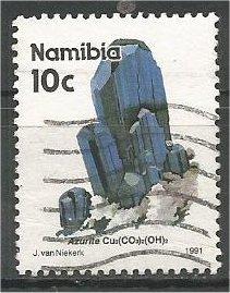 NAMIBIA, 1991, used 10c, Minerals. Scott 677
