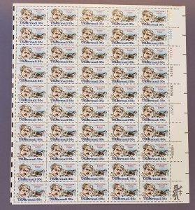 C100, Air Mail, Glenn Curtiss, Mint Sheet, OGNH