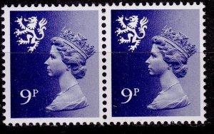Great Britain - Scotland - #SMH12 -1971 - VFU - QEII - Pair - CV$1.00