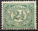 Netherlands; 1898: Sc. # 60: *-/MHH Single Stamp