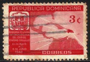 Dominican Republic 1940 Scott# 362 Used