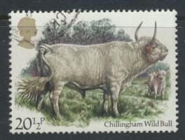 Great Britain SG 1241 - Used - British Cattle