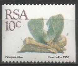 SOUTH AFRICA, 1988, MNH 10c, Definitive, Succulents, Coil Scott 757