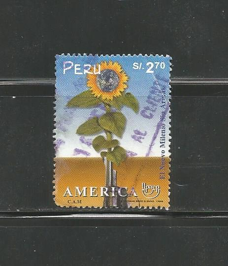#1238 America Issue, A New Millennium Without Arms - Earth, Sunflower