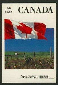Canada 1189a Booklet BK111 MNH Flags, Rural Kensington (open)