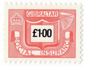 (I.B) Gibraltar Revenue : Social Insurance £1