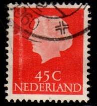 Netherlands -#353 Queen Juliana - Used