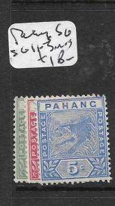 MALAYA  PAHANG  (P1007B)  TIGER 1C-5C  SG 11-3   MOG