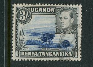 Kenya Uganda & Tanzania #82 Used