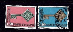 Italy 979-80 Used 1968 set