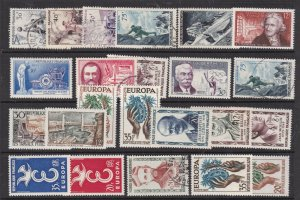 FRANCE  ^^^^# 801//890  MNH/MH/used  collection  $ 32.00@ lar3015fr155xxx
