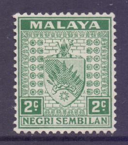 Malaya Negri Sembilan Scott 22 - SG22, 1935 Arms 2c MH*