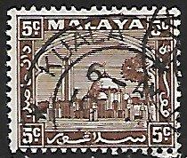 Malaya, Selangor # 48 - Mosque - used....{BR23}