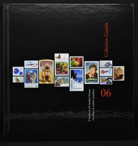 CANADA 2006 Stamp Yearbook USA delivery only.