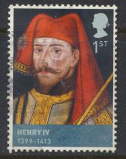 Great Britain SG 2812 SC# 2549 Henry IV Kings & Queens Used  see scan