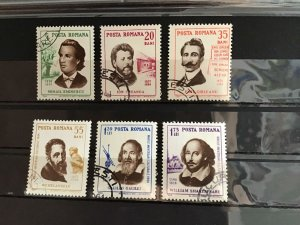 Romania 1964 Famous People stamps  R23332