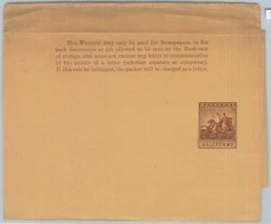 72408 - BARBADOS -   POSTAL STATIONERY  Wrapper - Higgings & Gage  # 4
