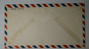 APS Detriot MI 1937 Souvenir Sheet Label Philatelic Convention Cachet Cover