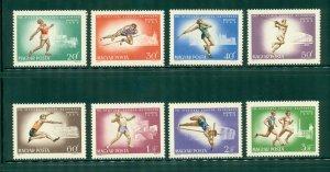 R4-0017 HUNGARY  1787-94 MNH SPORTS SCV $2.80 BIN $1.65 (16)