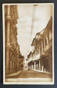 1933 Colombia Glen Ridge New Jersey Roman Street Cartagena RPPC Postcard Cover
