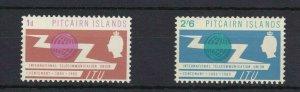 PN90) Pitcairn Islands 1965 International Telecommunication Union Centenary MUH