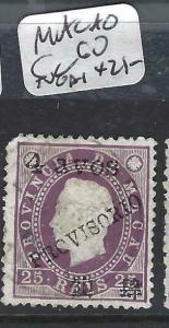 MACAO  (PP2104B)  SC 60 NGAI