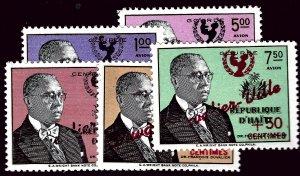Haiti CB37-CB41 Mint VF SCV$3.85...Such a Deal!