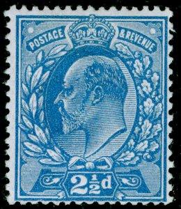 SG284 SPEC M18(3), 2½d dull blue, LH MINT. Cat £22.