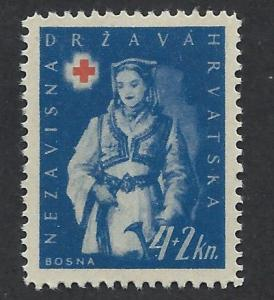 CROATIA SC# B22 VF U 1942