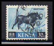 Kenya Used Very Fine ZA4496