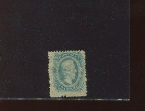 Confederate States Scott 11e Davis Perf 12.5 Mint Stamp (Stock CSA 11-Var 1)