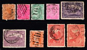 TASMANIA STAMP OLD USED STAMP COLLECTION LOT
