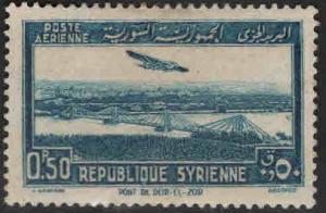 Syria Scott C90 MH* airmail stamp