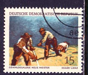 Germany DDR; 1968: Sc. # 1033: O/Used CTO Single Stamp