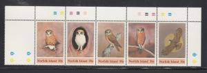 Norfolk Island 343 Owls mnh