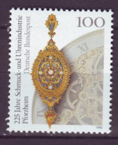J10424 JL stamps @20%scv 1992 germany set of 1 mnh #1762 jewlery