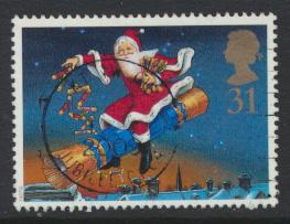 Great Britain SG 2008 Used    Christmas 1997  SC# 1778