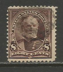 United States   #272  Used  (1895)  c.v. $2.75