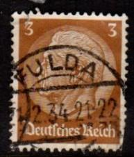 Germany - #401 Hindenburg WMK 126 - Used