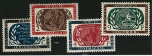 Luxembourg #306 - 309 VF MNH Cat $11.00