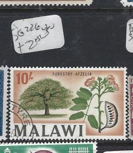 MALAWI  (PP1309B)  10/-  TREE  SG 226   VFU