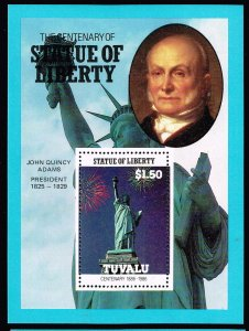 UK STAMP TUVALU 1986 CENTENARY STATU OF LIBERTY MNH S/S STAMP COLLECTION LOT #1