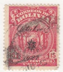Bolivia, Scott # 179, Used