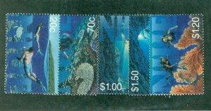NIUE 707-11 MH CV $6.95 BIN $3.25