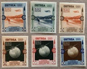Eritrea 1934 Colonial Arts Exhibition, MNH.  Scott C1-C6, CV $81.00. Camels