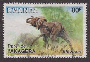 Rwanda 1266 Elephants 1986